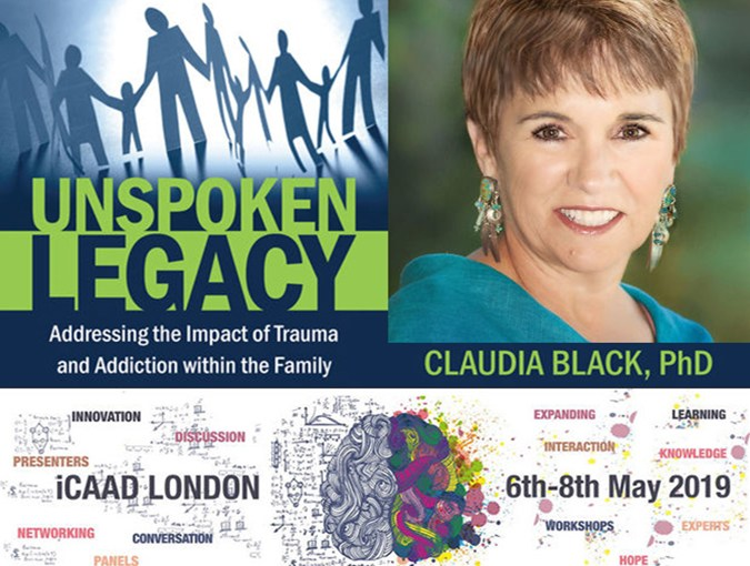 Review | Unspoken Legacy, Claudia Black | Central Recovery Press