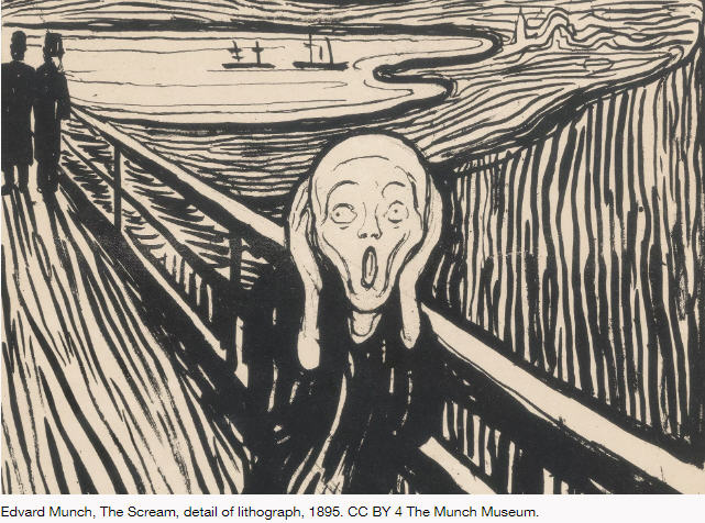 edvard munch the scream trauma therapy article bookblast diary