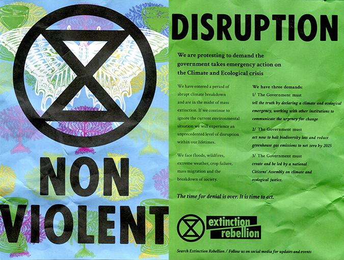 extinction rebellion top ten reads bookblast diary