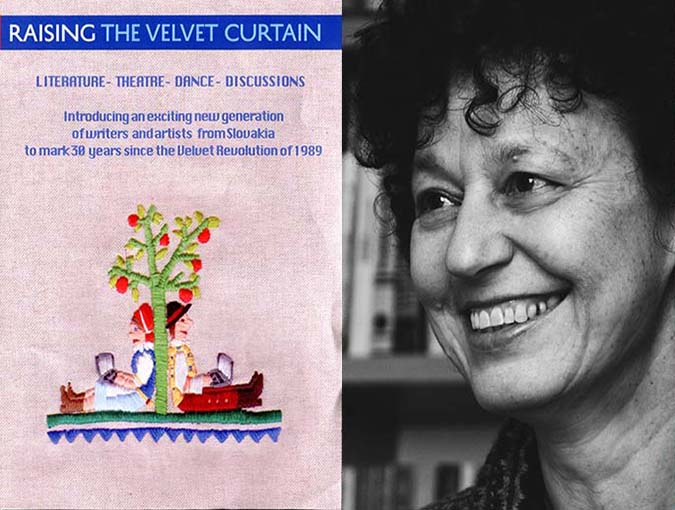 raising the velvet curtain lucy popescu bookblast diary