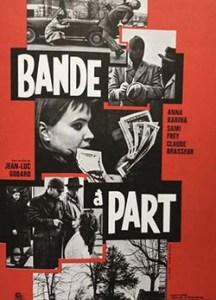 bande a part 1964 french half sheet h poussy
