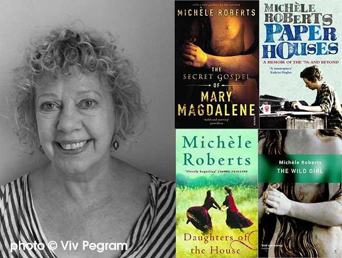 Podcast LIVE | In conversation with Michèle Roberts, Franco-British novelist