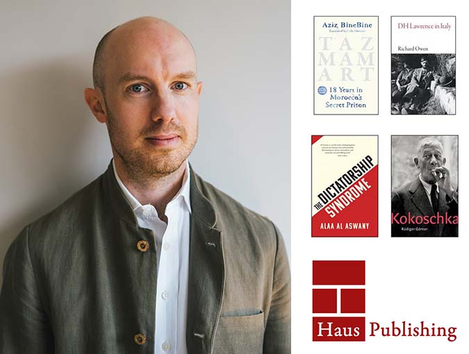 Interview | Harry Hall, Haus Publishing | Indie Publisher of the Week