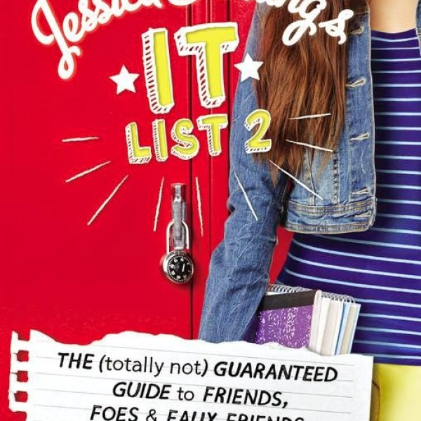 """On Wednesdays, We Wear Pink"" Early Review: Jesslca Darling's It List #2: The (Totally Not) Guaranteed Guide to Friends, Foes, and Faux Friends by Megan McCafferty"