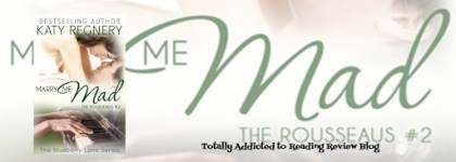 BLOG TOUR: MARRY ME MAD by KATY REGNERY