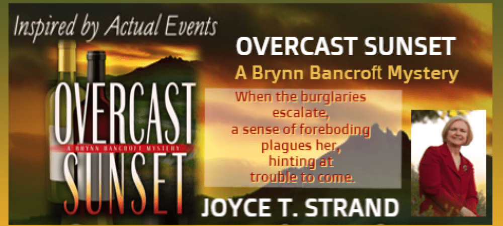 GUEST BOOK REVIEW : OVERCAST SUNSET  by JOYCE T. STRAND
