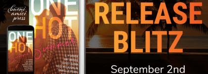BOOK REVIEW TOUR: ONE HOT SUMMER by HEIDI MCLAUGHLIN @HeidiJoVT, MELANIE MORELAND, @MorelandMelanie, AMY BRIGGS, CAISEY QUINN @CaiseyQuinn, DANIELLE PEARL, SHARI J. RYAN @sharijryan, KATY REGNERY