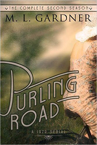 Book Cover: Purling Road by M. L. Gardner