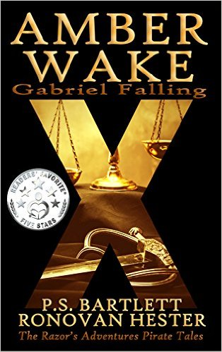 Book Cover: Amber Wake: Gabriel Falling by Ronovan Hester
