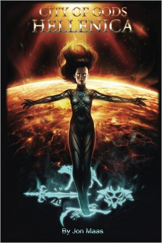 Book Cover: City of Gods: Hellenica by Jonathan Maas