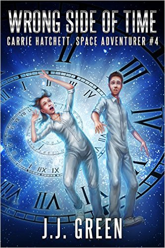 Book Cover: Wrong Side of Time by J.J. Green