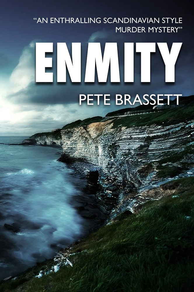 Book Cover: Enmity - murder mystery fiction by Pete Brassett