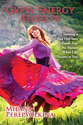 Book Cover: Gypsy Energy Secrets by Milana Perepyolkina