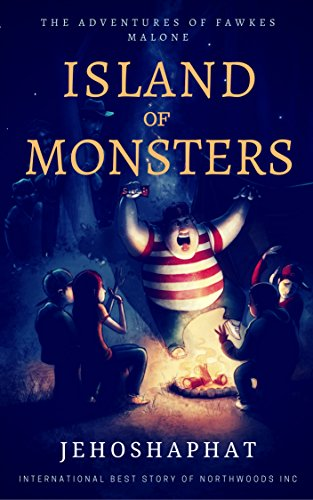 Book Cover: Island of Monsters by Jehoshaphat Shalom