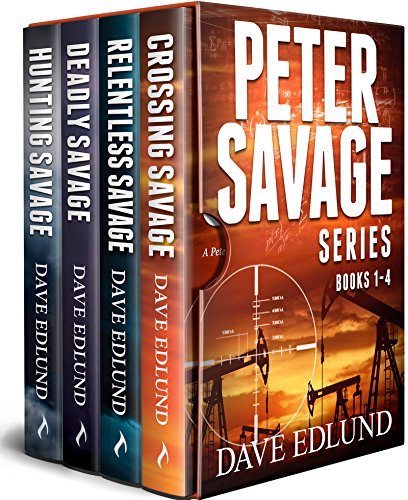 Book Cover: The Peter Savage Novels Boxed Set by Dave Edlund