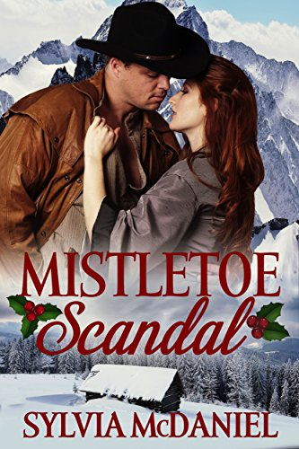 Book Cover: Mistletoe Scandal by Sylvia McDaniel