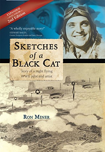 Book Cover: Sketches of a Black Cat by Ron Miner