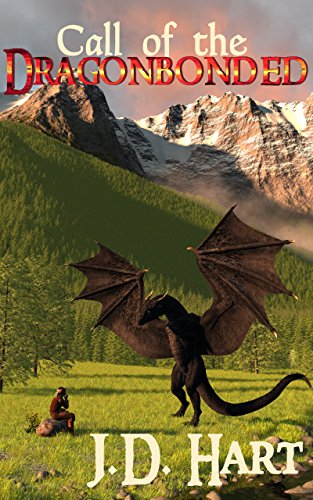 Book Cover: Call of the Dragonbonded: Book of Fire by JD Hart