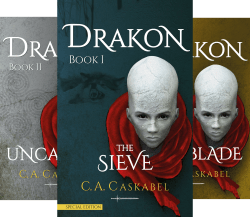 Book Cover: DRAKON (4 Book Series) byC.A. Caskabel