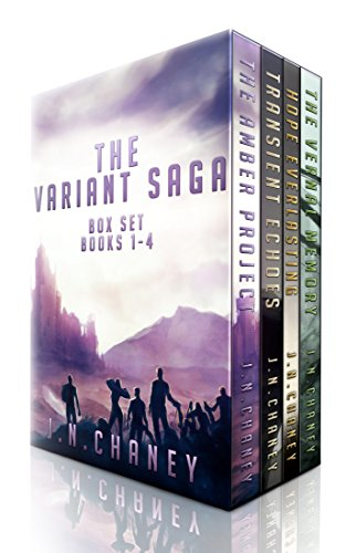 The Variant Saga: A Dystopian Sci-fi Epic by JN Chaney