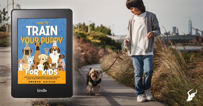 Train your puppy for kids blog post