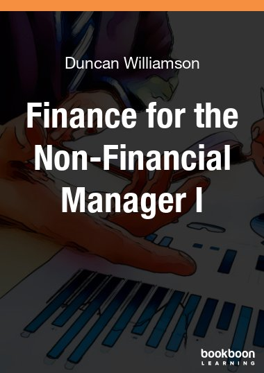 Finance for non finance managers course