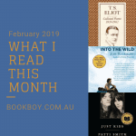 What I read this month: February 2019