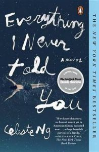 Teen book review: Everything I Never Told You by Celeste Ng