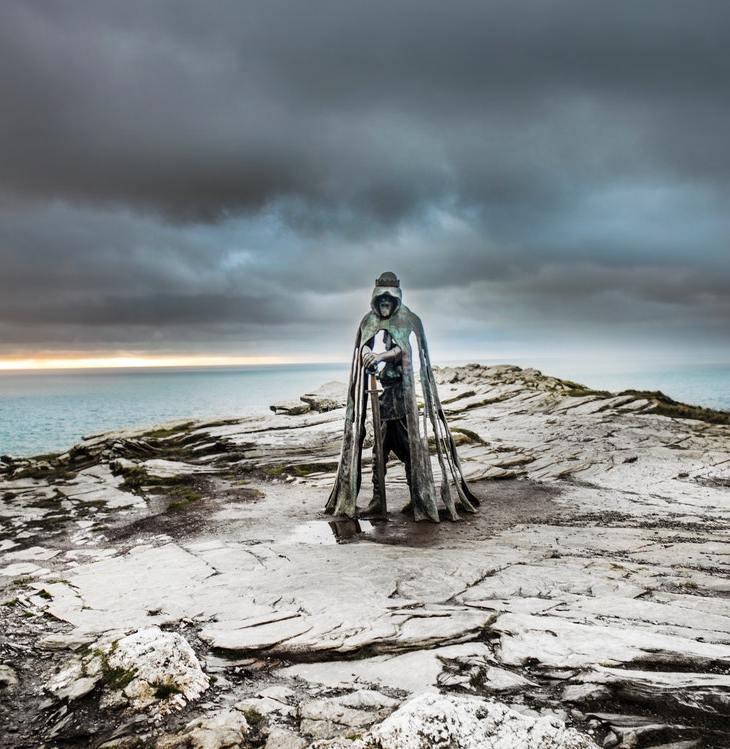 King Arthur statue - Arthurian tales