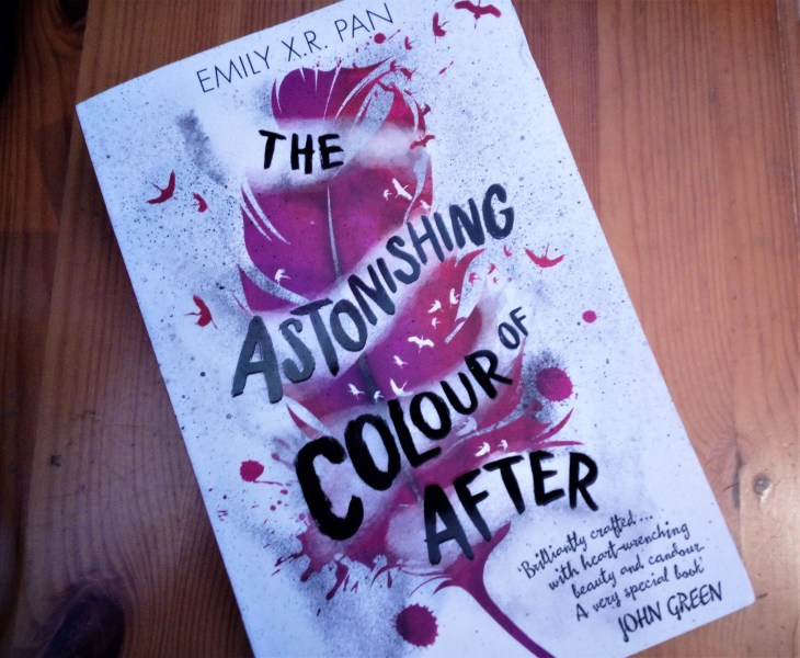 The Astonishing Colour of After paperback cover