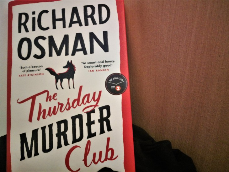 The Thursday Murder Club by Richard Osman hardback book cover