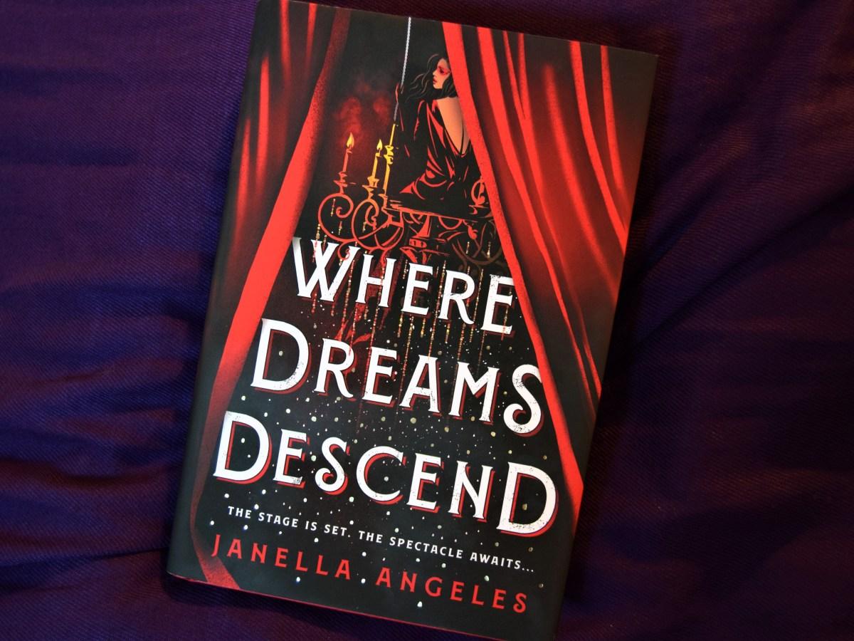 Where Dreams Descend hardback book cover