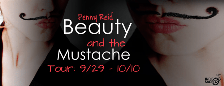 {Review+Giveaway} Beauty and the Mustache by Penny Reid @ReidRomance