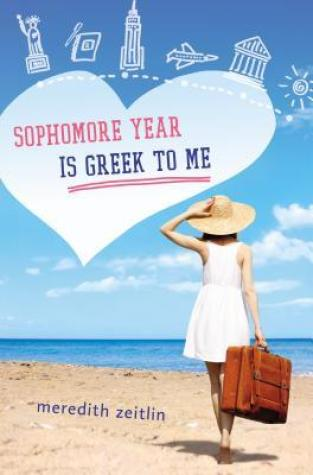 {ARC Review} Sophomore Year is Greek to Me by Meredith Zeitlin @zeitlingeist @PutnamBooks