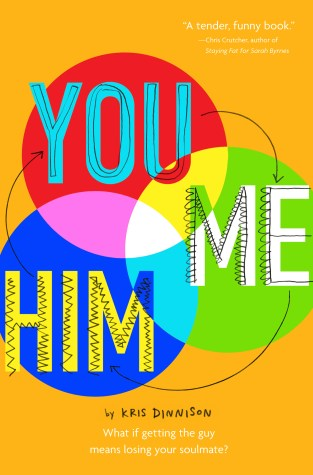{ARC Review+Giveaway} You and Me and Him by @KrisDinnison @HMHKids