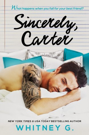 {Audio Book Review+Giveaway} Sincerely, Carter by Whitney G. @WhitGracia