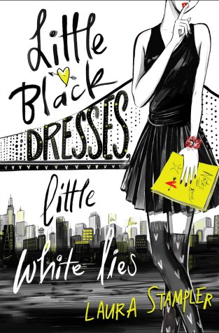 {Review+Giveaway} LITTLE BLACK DRESSES, LITTLE WHITE LIES by @LauraStampler
