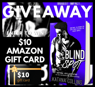 Blind Spot Giveaway Graphic
