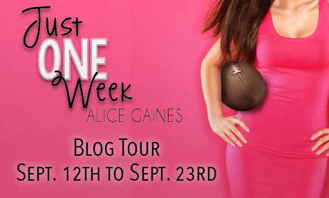 {Review+Giveaway} Just one Week by @AliceGaines @LoveStruckEP @entangledpub