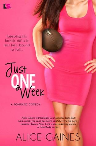 {Review+Giveaway} Just one Week by @AliceGaines @LoveStruckEP @entangledpub