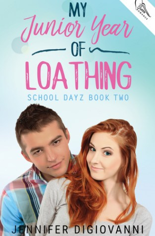 {Review} My Junior Year of Loathing by Jennifer DiGiovanni @jendwrites @SwoonRomance
