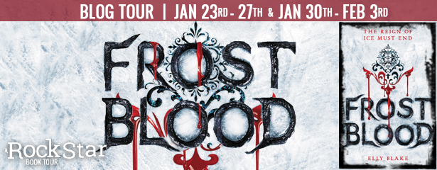 {Review+Giveaway} Frostblood by @Elly_Blake @TheNovl