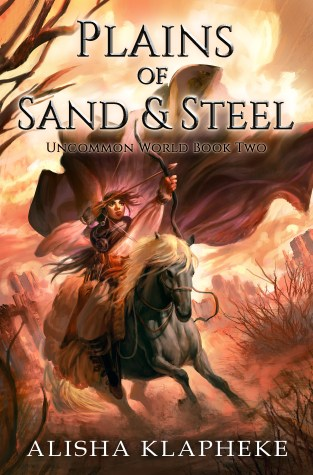 {Review+Giveaway} PLAINS OF SAND AND STEEL by @AlishaKlapheke