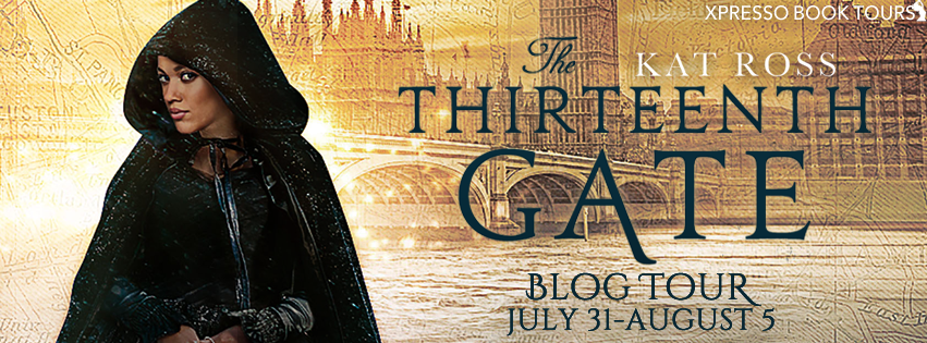 {Review+Giveaway} The Thirteenth Gate by Kat Ross @katrossauthor