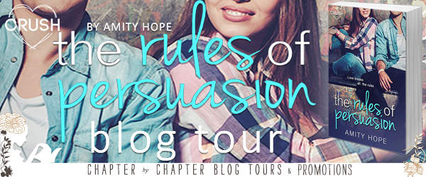 {Review+Giveaway} The Rules of Persuasion by @AmityHopeAuthor ‏@EntangledPub @EntangledTeen