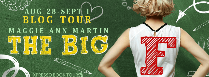 {Review+Giveaway} The Big F by Maggie Ann Martin @SwoonReads @maggersann