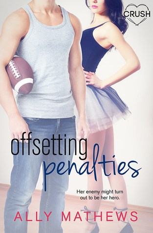 {Review+Giveaway} Offsetting Penalties by Ally Mathews @EntangledTeen