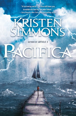 {Review+Giveaway} Pacifica by Kristen Simmons @kris10writes @TorTeen