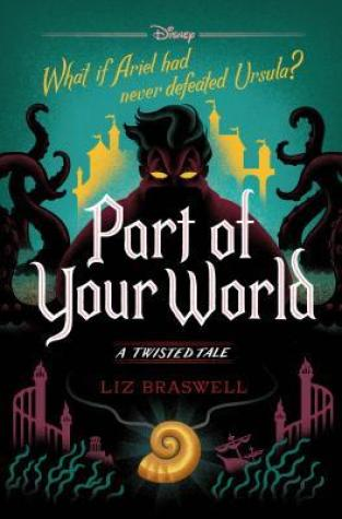 {Mermaid Makeup+Giveaway} #PartofYourWorld by Liz Braswell #ATwistedTale