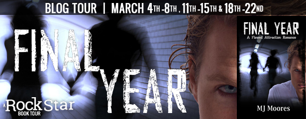 {Guest Post+Giveaway} Final Year by MJ Moores